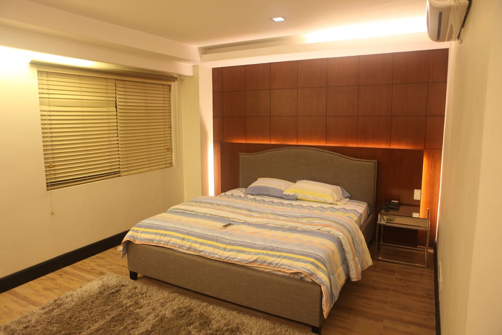 Masters Bedroom - King Sized Bed