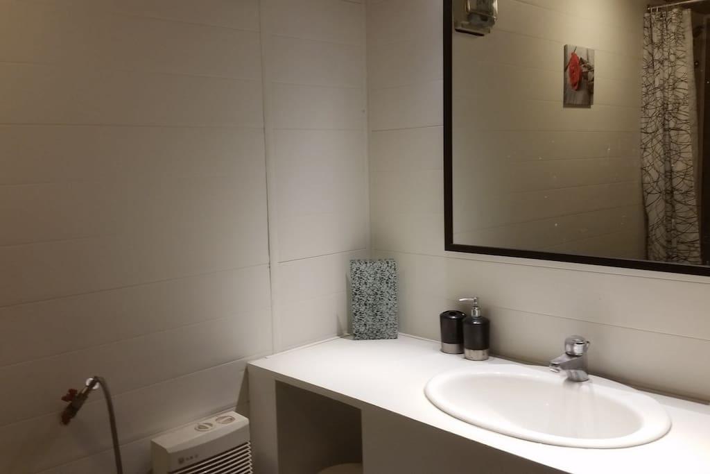 Salle de bains et WC indépendants