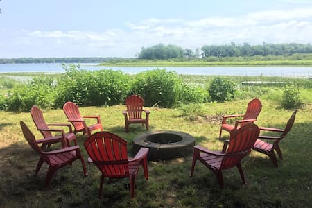 Baker's Loaf: Pentwater Bass Lake Cottage 4BR/3BA - Pentwater