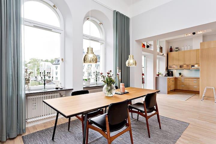 Sekelskiftestvåa vid havet - Saltsjöbaden - Apartment