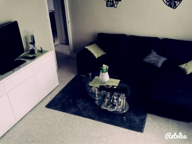 Chmbre ds appartement +petit balcon - Cherbourg-Octeville - Lägenhet