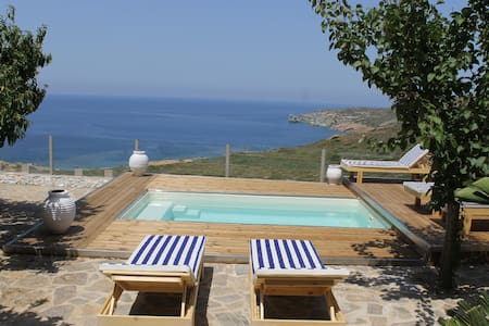 BLUE VEDERE Privete Villa with Sea View - Agia Pelagia