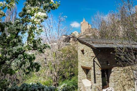 Rare! Pretty rustic barn in stones and wood - Sauto - 獨棟