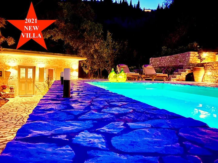 Villa Eva Agni with private pool