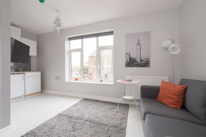 Star Studios - Modern Studio with a Garden View - Isleworth - Appartement