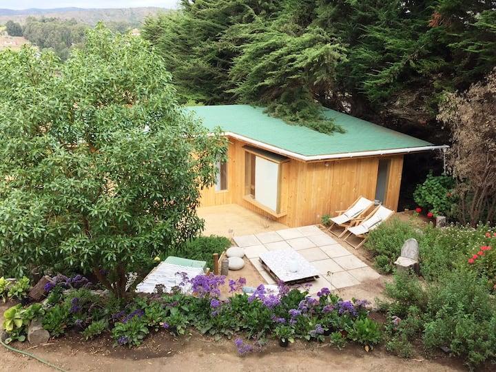 Maravillosa cabaña rodeada de naturaleza