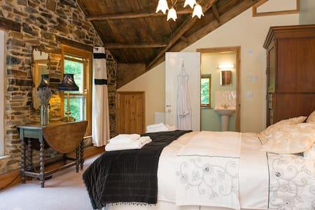 Wortha Farm - Ensuite Room - Brentor - Hus