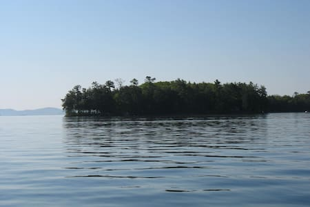 Tranquility on Little Camp Island - Island