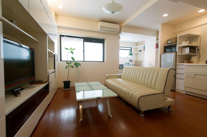 Cozy apt in Central Trendy Tokyo - Minato-ku - Appartement
