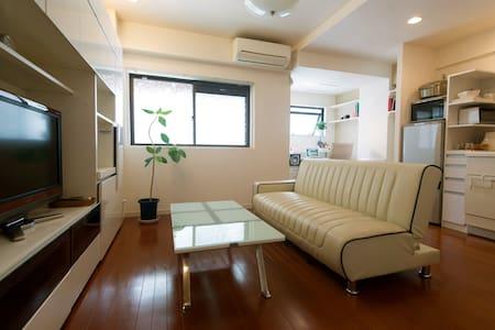Cozy apt in Central Trendy Tokyo - Minato-ku