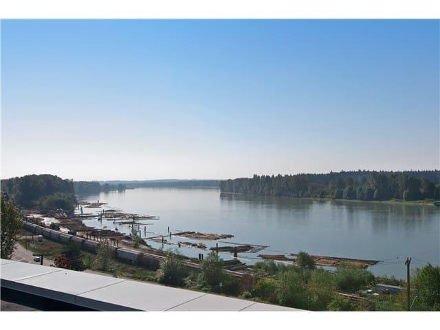 Fraser River and tree top views! - Maple Ridge - Lägenhet