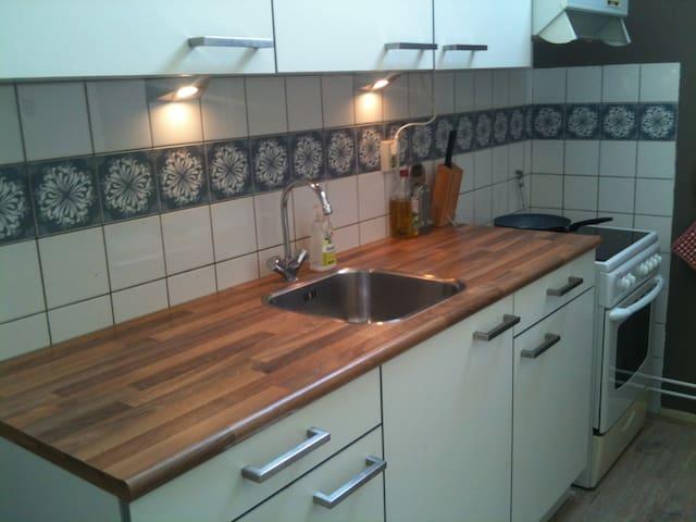 Ruimte met eigen keuken en balkon - Wijchen - Lejlighed
