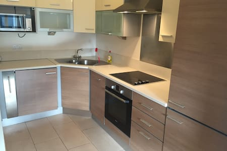 Welcome to this modern apartment in the center of Dublin. Great location and only a 5 min walk to Temple Bar and Trinity College. Included is Wifi, Microwave, Fridge/Freezer, Washer/Dryer etc.