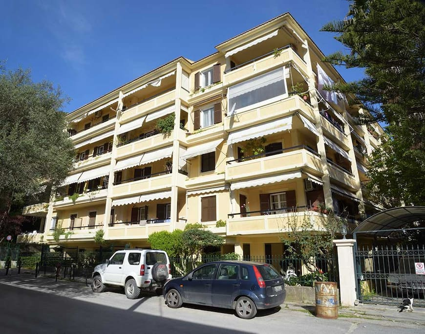 Maria's Apartment - Down Town Corfu