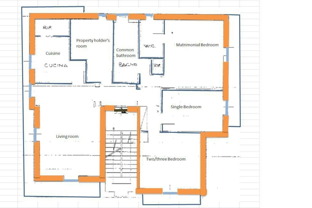 General appartment plan