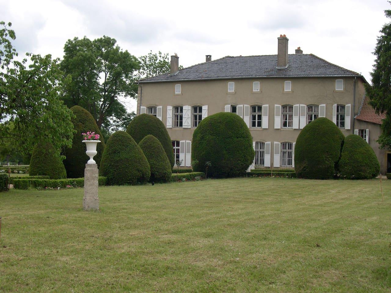 jardin classé