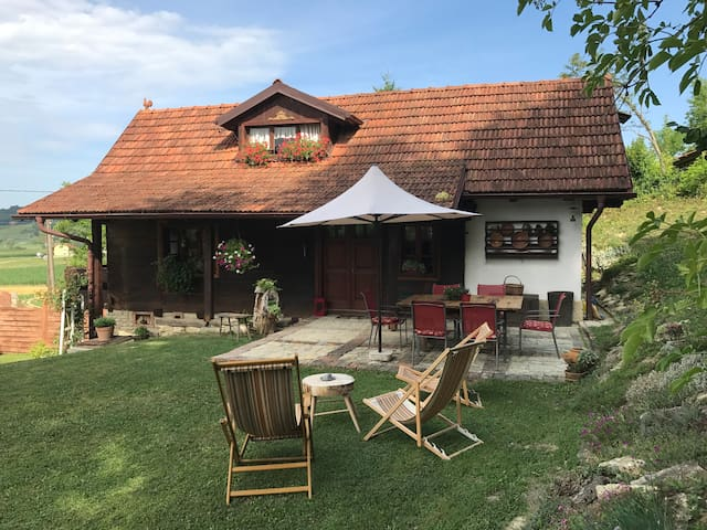 Authentic house in peaceful village
