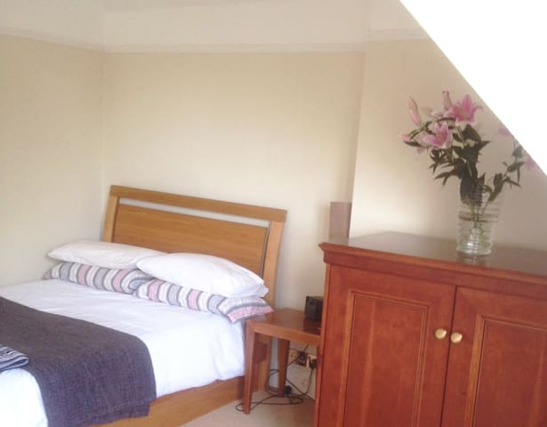 Light DOUBLE or TRIPLE with lovely, big bathroom - Eastbourne - House