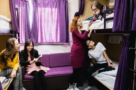 Networking Hostel Женская комната