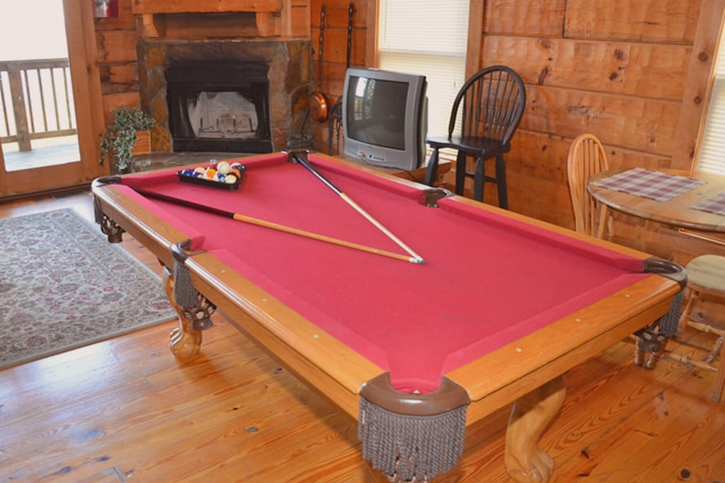 Play a game of pool.