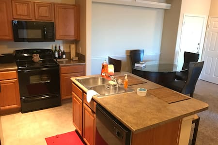 Spacious single bedroom apartment (up to 4 people) - Houston - Appartement