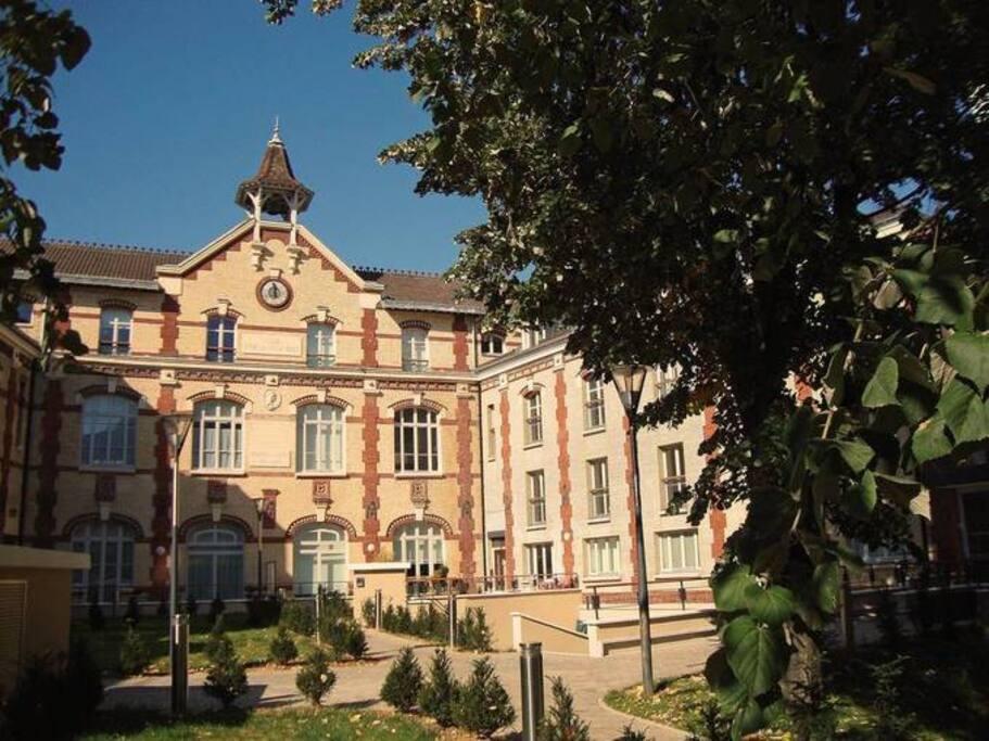 Studio avec jardin mairie d 39 issy paris sud - Jardin botanique issy les moulineaux ...