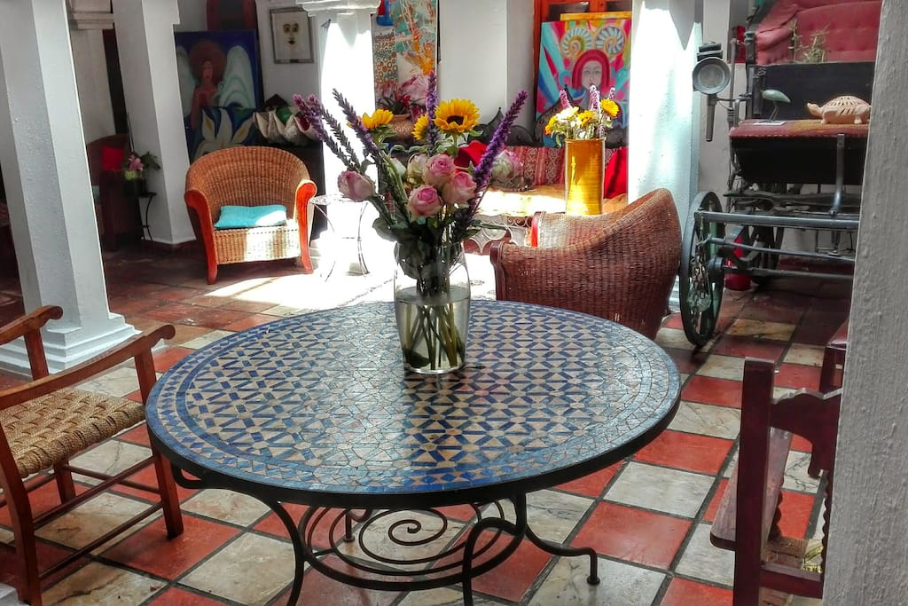 shared Andalusian Patio