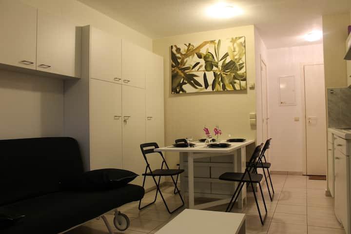 mooie studio (4 pers.) in De Panne