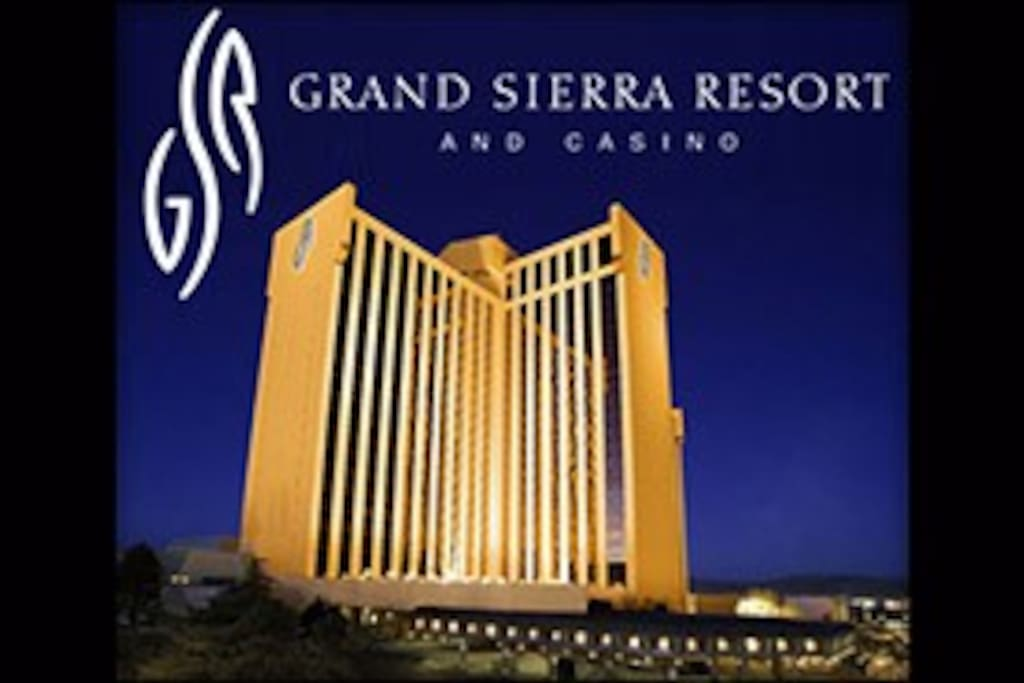 Grand Sierra Resort night view.