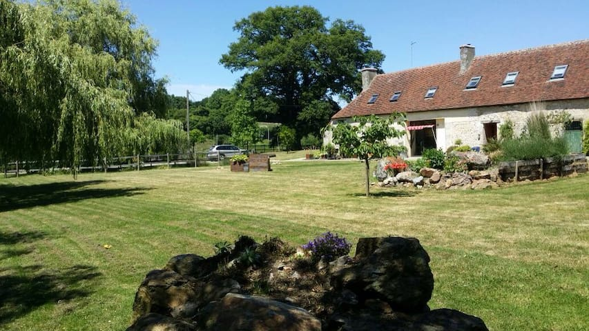 France. Normandy Holiday Home - St Quentin de Blavou - Andre