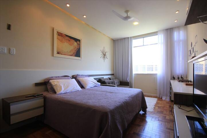 Assis 801 | Well located Flat | 3 pax