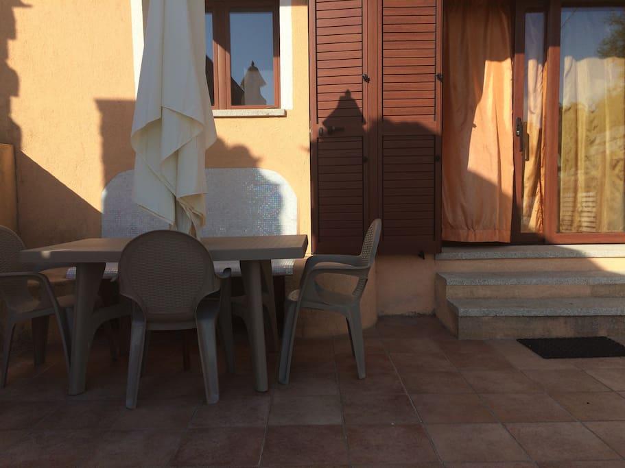 La zona esterna privata / private outdoor