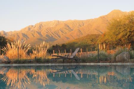 Cabania romantica en la sierra - Yacanto - Cabaña