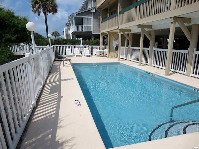 Take a dip in our ocean side pool.