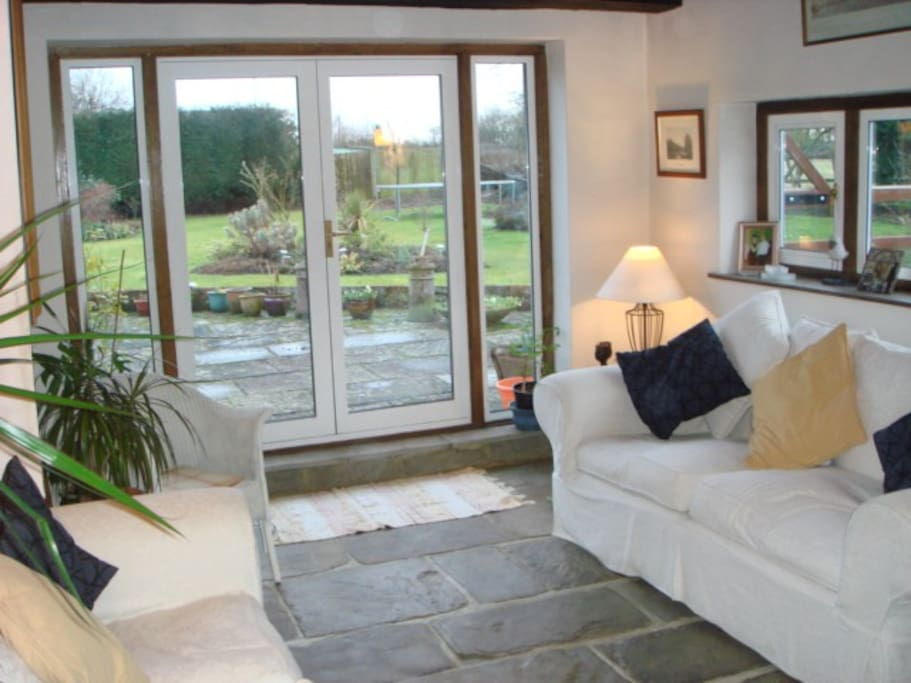 The Garden Room which is delightful during the summer in particular