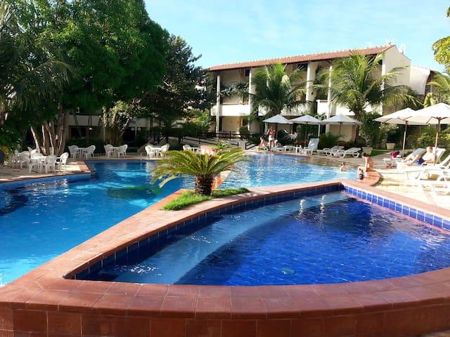 Condomínio Solar Pipa - Duplex Vista Jardim - Tibau do Sul - Condomínio