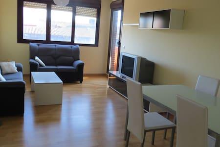 Amplio piso exterior, 3 habitaciones y piscina - Santo Domingo de la Calzada - Lejlighed