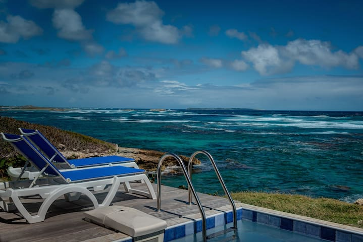 ★ Home away from home I Private pool I Sea views ★ - Rue de l'Escale, Saint-Martin - Apartament
