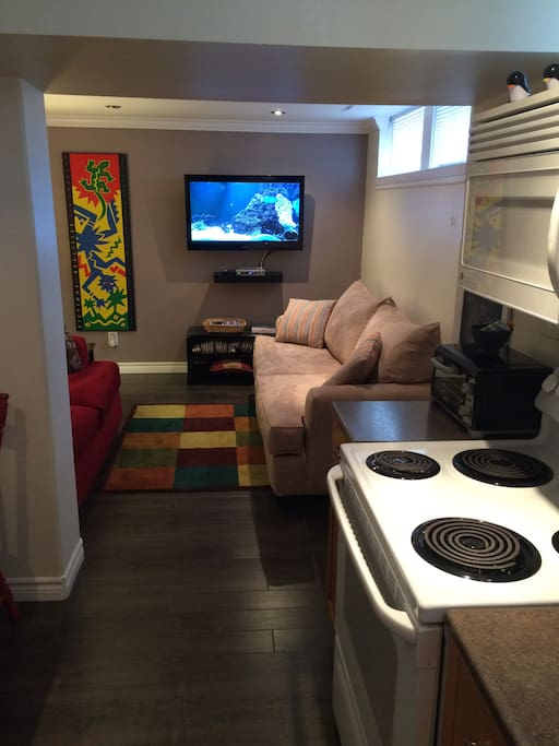 Comfy Furnished 2 Bdrm Basement Apt
