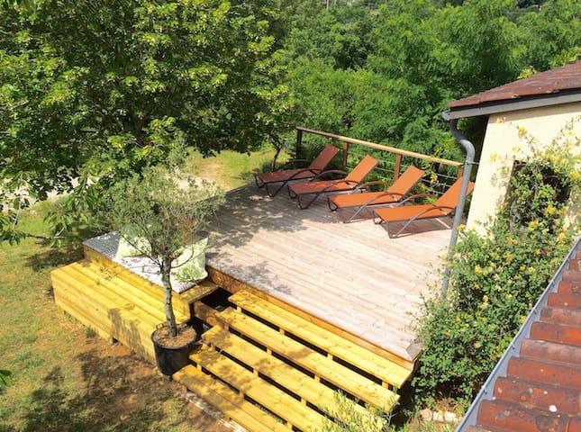Les Bories maison 4 chambres - Condezaygues - Villa