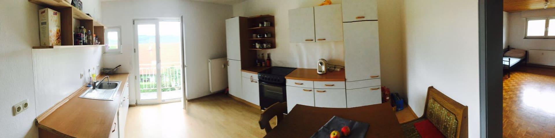 19qm Zimmer in einer WG im Naturpark Pfälzer Wald - Schopp - Apartament