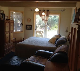 Coastal canyon horse ranch hideaway - Bandon - Casa