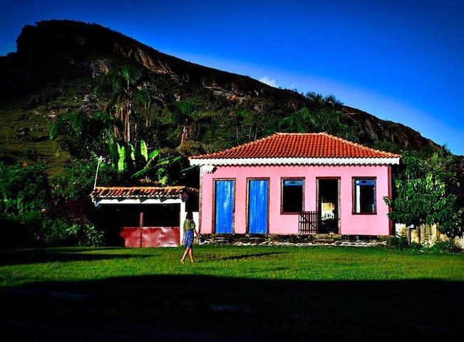 Ouro Preto- Lavras Novas- Chapada- casa- cachoeira