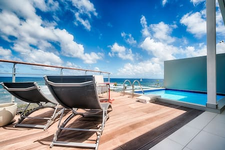 ★ Stunning views I Private pool I 2 bedrooms ★ - Rue de l'Escale, Saint-Martin - Lägenhet