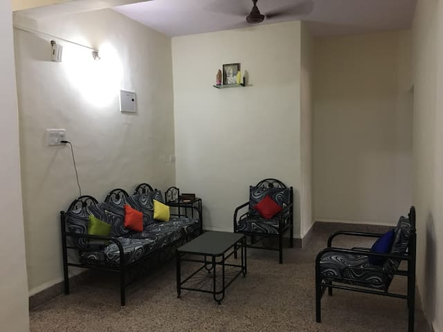 Spacious and Homely 1 BHK with Patio - Bardez