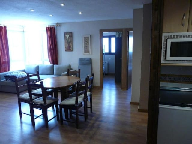 Apartment in the Acebo Building (2 rooms) with sofa bed in the living room,