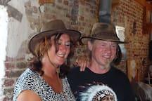 Freddy en Margaret