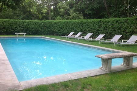 bridgehampton village home w/pool - Bridgehampton