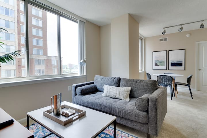 Beautiful 1BR in Alexandria ~4mi to Reagan Airport