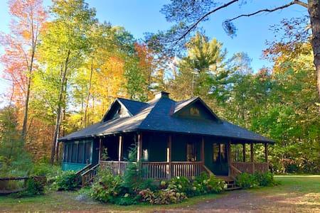 Owl's Head Cabin - Adirondack Mountain Retreat
